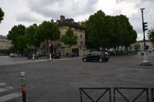 Square in Montparnasse